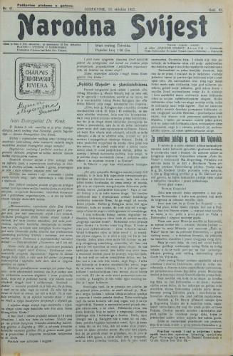 Narodna svijest, 1927/41