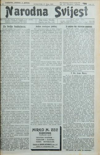 Narodna svijest, 1928/20