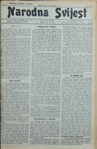 Narodna svijest, 1927/18