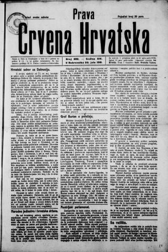 Prava Crvena Hrvatska/692