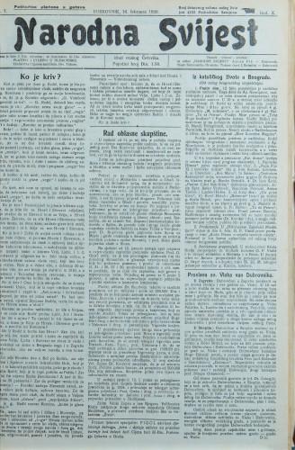 Narodna svijest, 1928/7