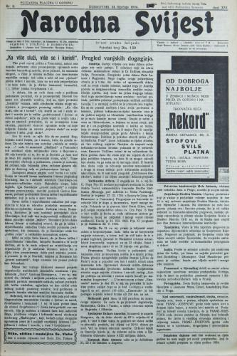 Narodna svijest, 1934/4