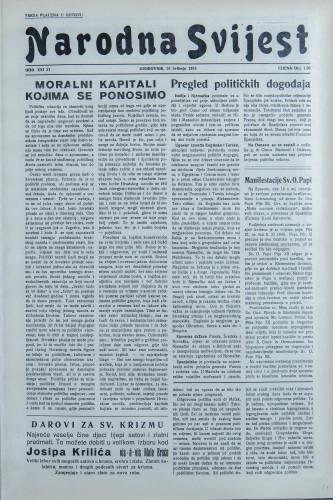 Narodna svijest, 1939/21