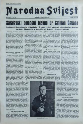Narodna svijest, 1939/32