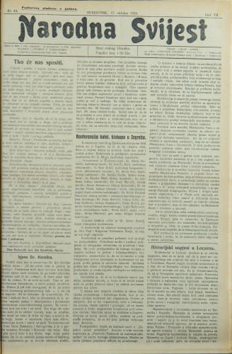 Narodna svijest, 1925/44