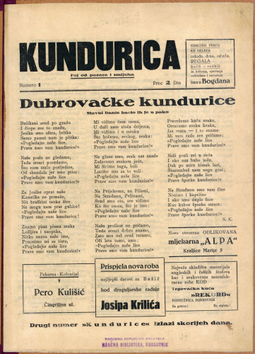 Kundurica/Numero 1