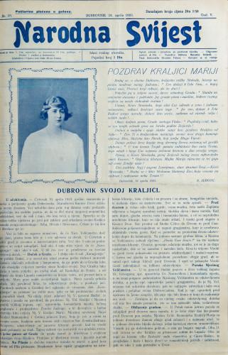 Narodna svijest, 1923/19