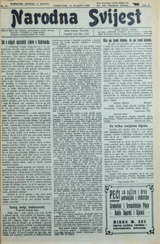 Narodna svijest, 1928/50