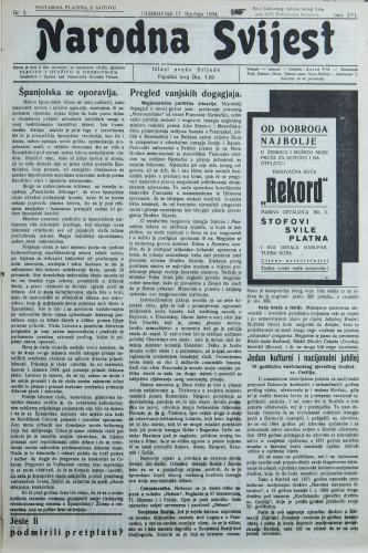 Narodna svijest, 1934/3