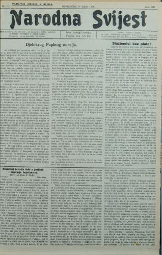 Narodna svijest, 1926/10