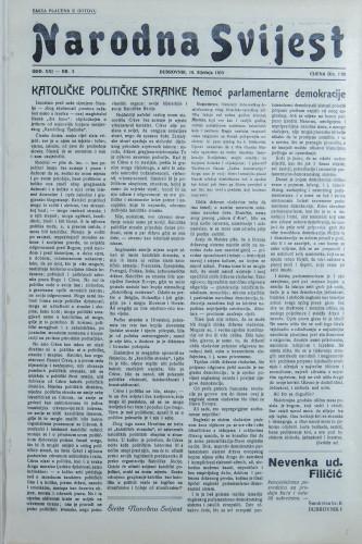 Narodna svijest, 1939/3