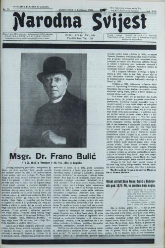 Narodna svijest, 1934/32