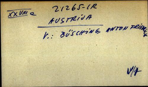 Austrija - uputnica