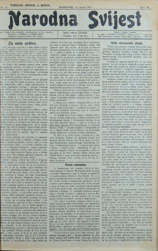 Narodna svijest, 1927/11