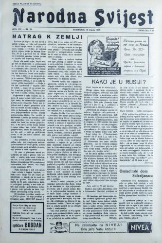 Narodna svijest, 1937/26