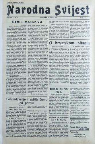 Narodna svijest, 1937/3