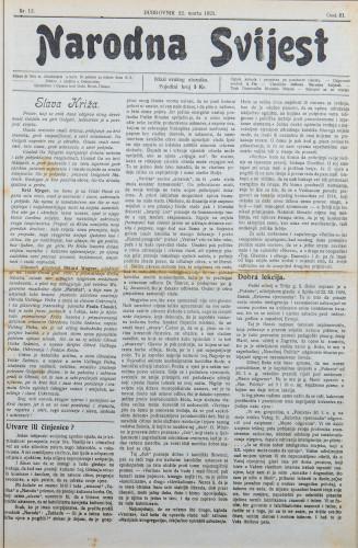 Narodna svijest, 1921/12
