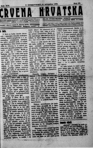 Crvena Hrvatska/89