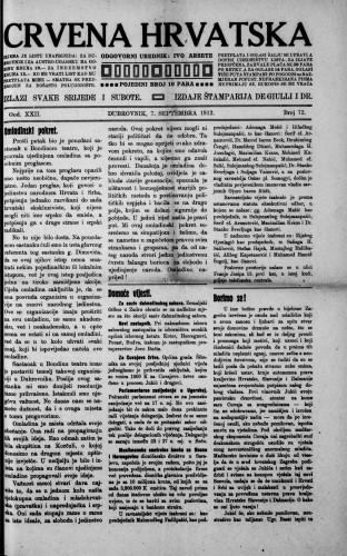 Crvena Hrvatska/72
