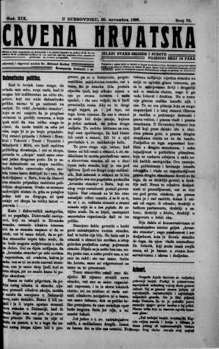 Crvena Hrvatska/93