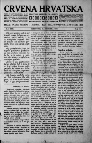 Crvena Hrvatska/104