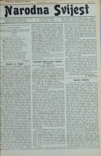 Narodna svijest, 1924/15