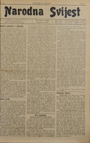 Narodna svijest, 1922/13