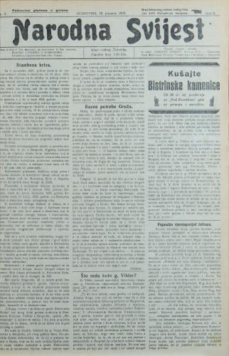 Narodna svijest, 1928/3