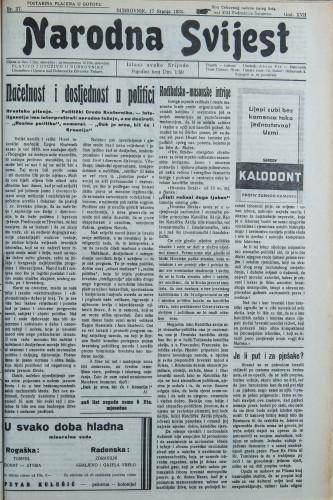 Narodna svijest, 1935/27