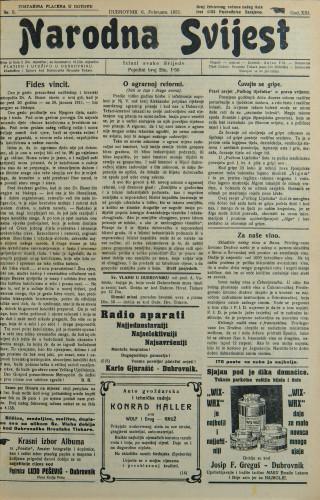 Narodna svijest, 1931/5