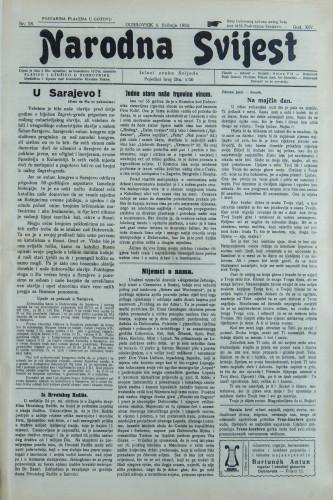 Narodna svijest, 1932/18