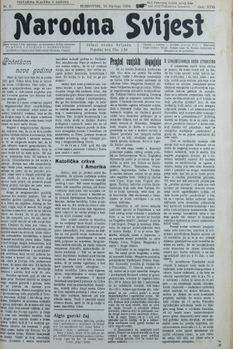 Narodna svijest, 1936/2