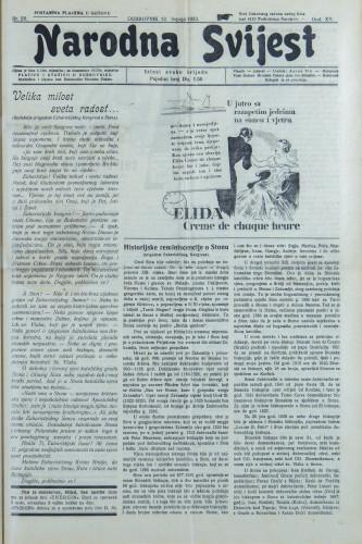 Narodna svijest, 1933/28