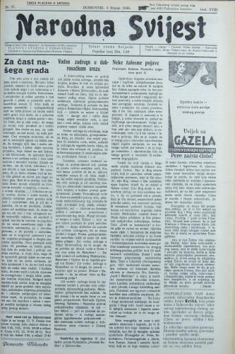 Narodna svijest, 1936/27