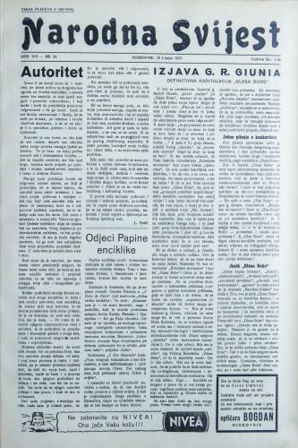 Narodna svijest, 1937/24