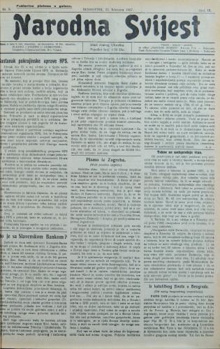 Narodna svijest, 1927/8