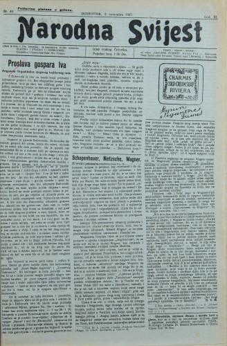 Narodna svijest, 1927/44