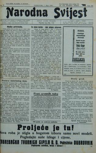 Narodna svijest, 1930/18