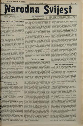 Narodna svijest, 1924/44