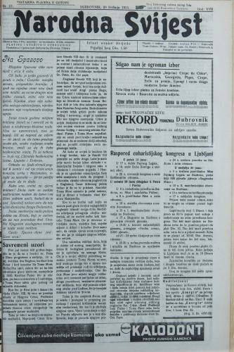 Narodna svijest, 1935/21