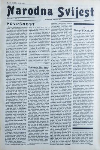 Narodna svijest, 1937/23
