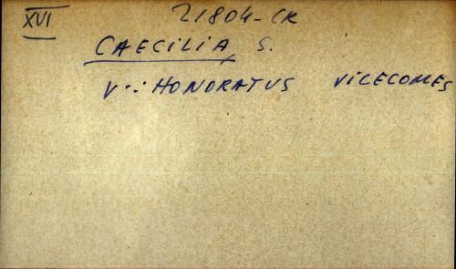 Caecilia, S. - uputnica