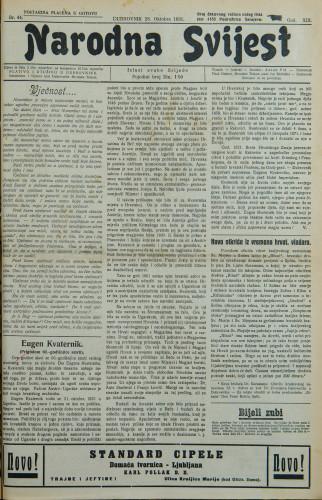 Narodna svijest, 1931/44