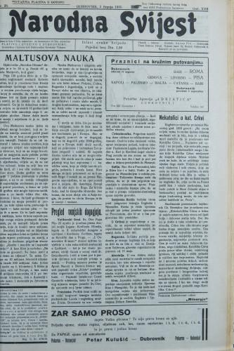 Narodna svijest, 1935/26