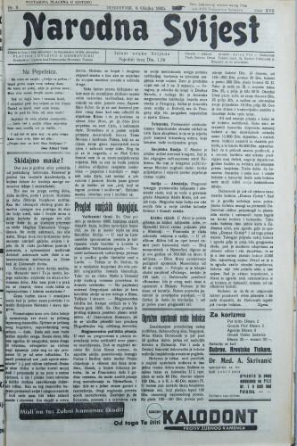 Narodna svijest, 1935/9