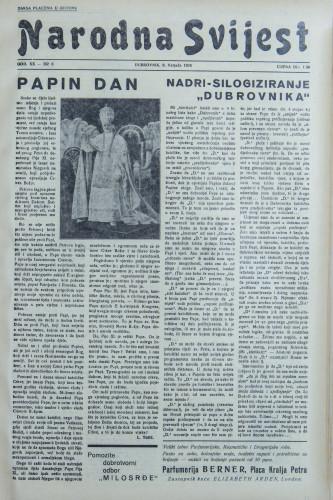 Narodna svijest, 1938/6