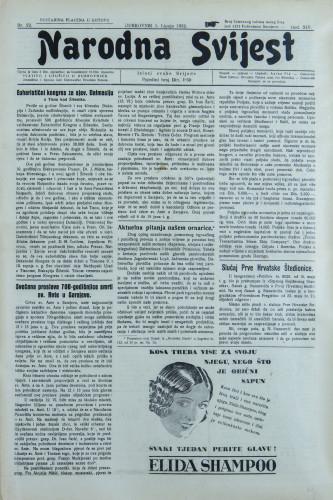 Narodna svijest, 1932/22