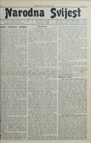 Narodna svijest, 1923/9