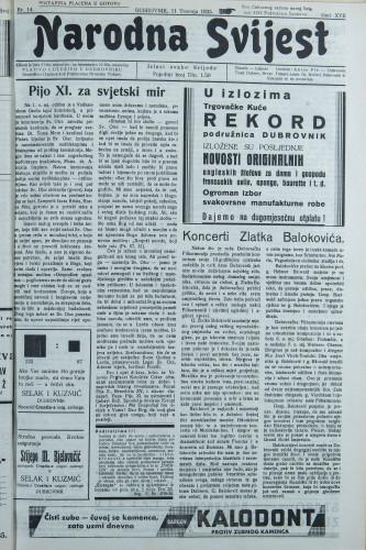 Narodna svijest, 1935/14
