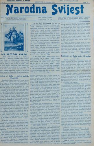 Narodna svijest, 1924/6